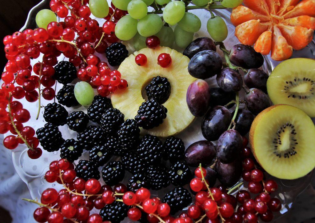 カラフルなフルーツ